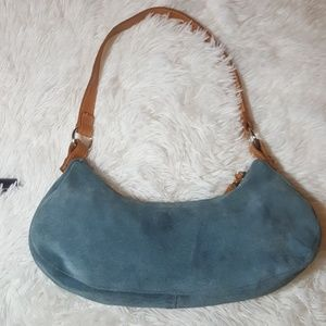 United Colors of Benneton Suede Purse